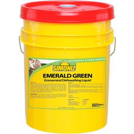 Simoniz® Emerald Green Economical Dishwashing Liquid 5 Gallon Pail, 1/Case - E0985005