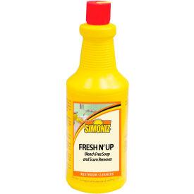 Simoniz® Fresh N Up Bleach-Free Soap And Scum Remover 32 oz. Bottle, 12/Case - F1245012