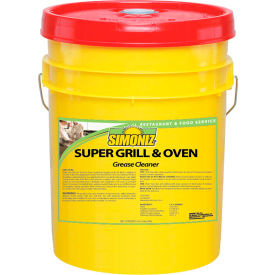 Simoniz® Super Grill & Oven Grease Cleaner 5 Gallon Pail, 1 Pail/Case - G1398005