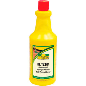 Simoniz® Green Scene Blitz Hydrogen Peroxide Multi Purpose Cleaner 32oz. Bot, 12/Ca - G1403012