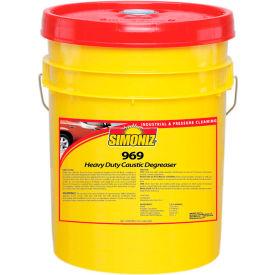 Simoniz® 969 Heavy Duty Caustic Degreaser 5 Gallon Pail, 1/Case - NU1800005