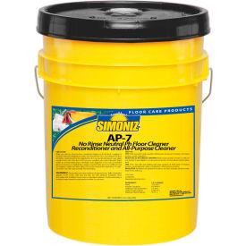 Simoniz® AP-7 Neutral pH Floor Cleaner, 5 Gallon Pail - P2666005