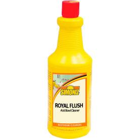 Simoniz® Royal Flush Toilet Bowl and Urinal Cleaner 32 oz. Bottle, 12/Case - R3055012