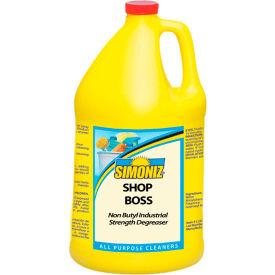 Simoniz® Shop Boss Industrial Strength Degreaser, Gallon Bottle, 4 Bottles - S3252004