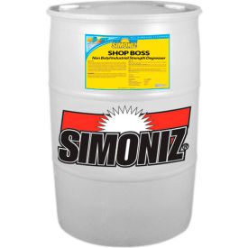 Simoniz® Shop Boss Industrial Strength Degreaser 55 Gallon Drum, 1/Case - S3252055