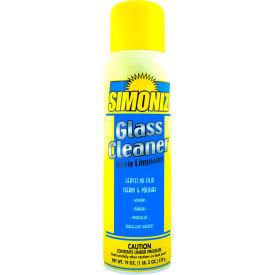 Simoniz® Aerosol Glass Cleaner 20 oz. Aerosol Can, 12/Case - S3321012