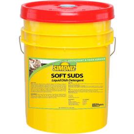 Simoniz® Soft Suds Liquid Dish Detergent 5 Gallon Pail, 1/Case - S3350005