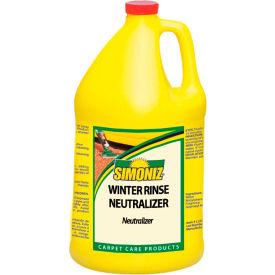 Simoniz® Winter Rinse Ice Melt Neutralizer, Gallon Bottle, 4 Bottles - W4115004