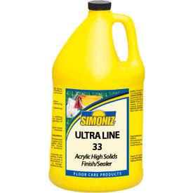Simoniz® Ultra Line 33 Floor Finish & Sealer Gallon Bottle, 4/Case - UL0700004