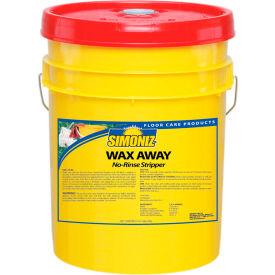 Simoniz® Wax Away No Rinse Floor Stripper, 5 Gallon Pail - W42150005