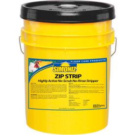 Simoniz® Zip Strip No Scrub No Rinse Floor Stripper, 5 Gallon Pail - Z60500005