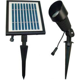 Solar Goes Green Solar LED Bright White Spot Light SGG-S12, Groud Mount, Outdoor