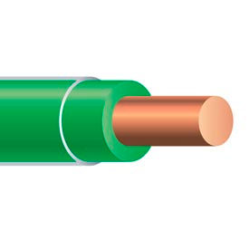 Southwire 11599801 Thhn 10 Gauge Building Wire, Solid Type, Green, 500 Ft - Pkg Qty 2