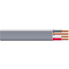 Southwire 14782702 UF-B Underground Feeder Cable, 6/3 AWG, 125 ft