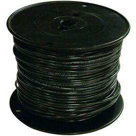 Southwire 27021501 TFFN 18 Gauge Building Wire, Stranded Type, Black, 500 Ft - Pkg Qty 4