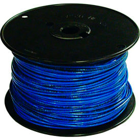 Southwire 27024901 TFFN 18 Gauge Building Wire, Stranded Type, Blue, 500 Ft - Pkg Qty 4