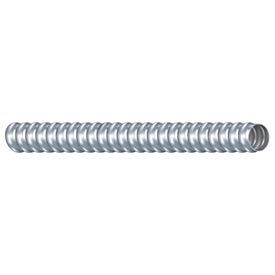 """Southwire 55092701 Type Rwa Reduced Wall Aluminum Flexible Wiring Conduit, 1-1/2"""", 25 ft"""