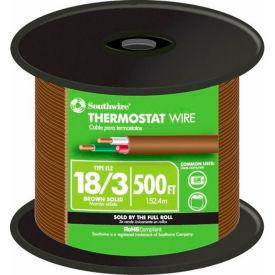 Southwire 64168845 18/3 Thermostat Black, 500 Ft - Pkg Qty 2