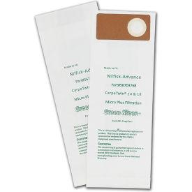 Kent Duravac 152; Euroclean Pro 14 & Model Du135 09 4105-01, 09410509, Upright Vacuum Bags