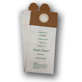 Clarke Combi-Vac, 514/517/518/614/618 - Filtervac 14 & 18, Filterpac Bp Vacuum Bags