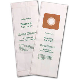 Panasonic U (All MC/MCV51-73 Models) 3 Pack Vacuum Bag