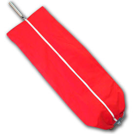 Sanitaire Red Cloth Upright Cloth Bag With Lock, Full Zipper, Use With F&G Only