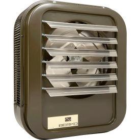 Berko® Horizontal/Downflow Unit Heater HUHAA1048, 10KW at 480V, 3Ph