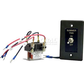 Berko® Remote Summer-Winter Fan Switch with Relay HUHAARFS2 for Horizontal/Downflow Unit Heater