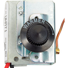 Berko® Single Pole Thermostat Kit UHMT1 - 40-80°F Temp For Horizontal/Downflow Unit Heater