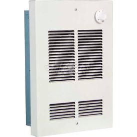 Berko® Shallow Wall Fan Forced Zonal Heater SED1512 120V, 1500 Watts, Northern White