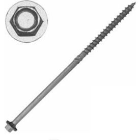 "Screw Products THG7 - 5/16"" Heavy Timber Hex Head Screws #17 x 7"", Gray, 250/Pack Qty - Made In USA"