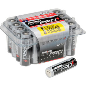 Rayovac® Alkaline Ultra Pro™ AA 24 Battery Contractor Pack - Pkg Qty 24