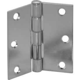 """Butt Hinge Polished Brass Plated 3"""" X 3"""" - Pkg Qty 50"""