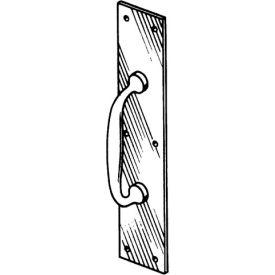 "Pull Plate - Polished Brass 4"" X 16"" - Pkg Qty 4"