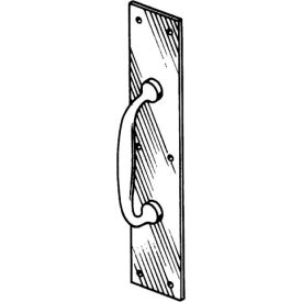 """Pull Plate - Stainless Steel 3-1/2"""" X 15"""" - Pkg Qty 4"""