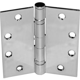 "Ball Bearing Hinge - 5"" X 5"" Brass Plated - Pkg Qty 6"