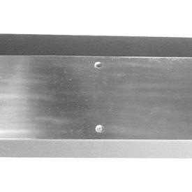 "Kick Plate - Polished Brass 8"" X 28"" - Pkg Qty 2"