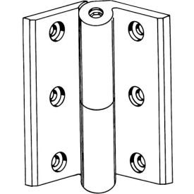 """Ul Template Spring Hinge 4-1/2"""" Brass Plated - Pkg Qty 6"""