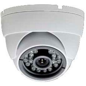 COP Security 3 AXIS IR Dome Camera, CIR-BA44FB, 3 Axis, 3.6mm IR Lens