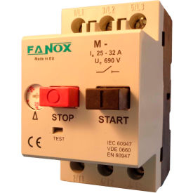 Springer Controls GMKO-E, Manual Motor Starter, 0.63-1.0 Amp, Mag. Trip 12 Amp