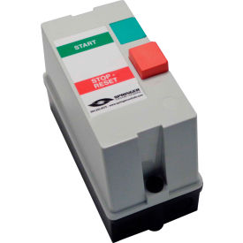 Springer Controls, JC0906P1G-SJ, Enclosed AC Motor Starter, 3-Phase, 1/2 HP, 230V