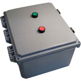Springer Controls, JC5006P1K-SE, Enclosed AC Motor Starter, 3-Phase, 15.0 HP, 230V by