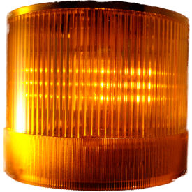 Springer Controls / Texelco LA-14-4B 70mm Stack Light, Steady, 24V AC/DC LED - Yellow