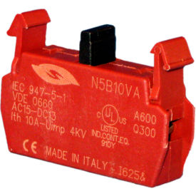Springer Controls N5B10VA, Contact Block-Normally Open Early Make-for N5 series push buttons