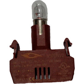 Springer Controls N5PDNVG, Power Supply with Bulb- 48V screw terminal