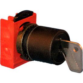 Springer Controls N5XSCZ0N95, 22mm, 3-Position Key Selector , 1-0-2, KEY REMOVAL: 0,2
