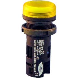 Springer Controls N5XUGDD0, Unibloc Pilot Light - Yellow