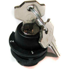 T.E.R., PRSL1874PI 1/2 Maint. Pos. Change Over Keyed Selector Switch, Use w/ MIKE & VICTOR Pendants