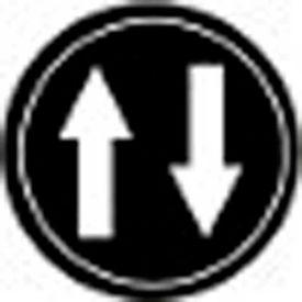 T.E.R., PRTA016MPI Up + Down Black Button Insert, Use w/ MIKE & VICTOR Pendants
