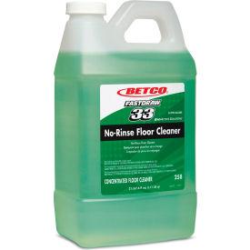 Betco FastDraw 33 No-Rinse Floor Cleaner, 64 oz. Bottle, 4 Bottles - 25847-00